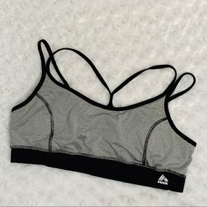 RBX Active Crop Sports Bra Performance XL Padded
